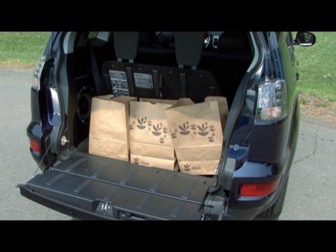 2010 Mitsubishi Outlander - Cargo Capabilities