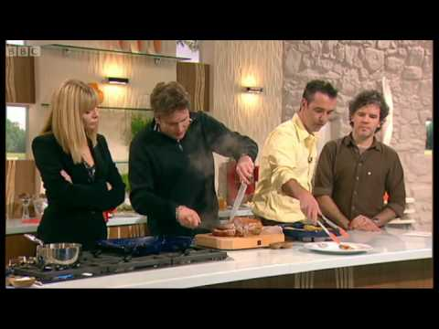 Samantha Janus Food Hell Part 2 - Saturday Kitchen - BBC