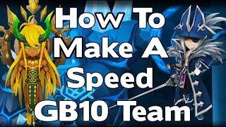 Summoners War - How To Make A Giants B10 Yolo Team - 1 Minute GB10 Runs