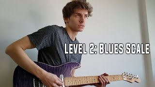 5 LEVELS OF SOLO IMPROVISATION ON GUITAR