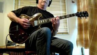 Pete Riordan - Josie (Steely Dan guitar cover)