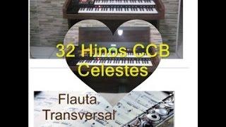 32 Hinos CCB Celeste Flauta Orquestral