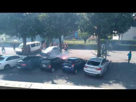 Scontri tra tifosi del Cagliari e del Brescia, cariche dei carabinieri - LE IMMAGINI