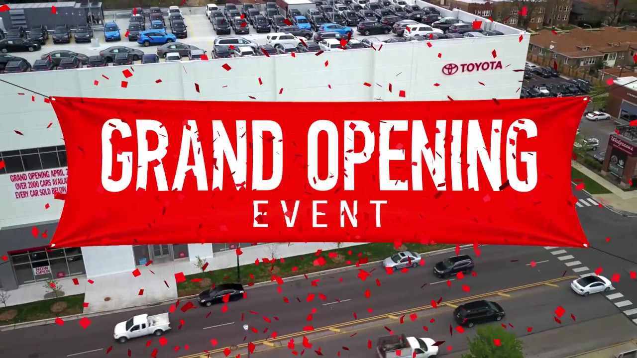 Grand Opening Event Chicago Northside Toyota