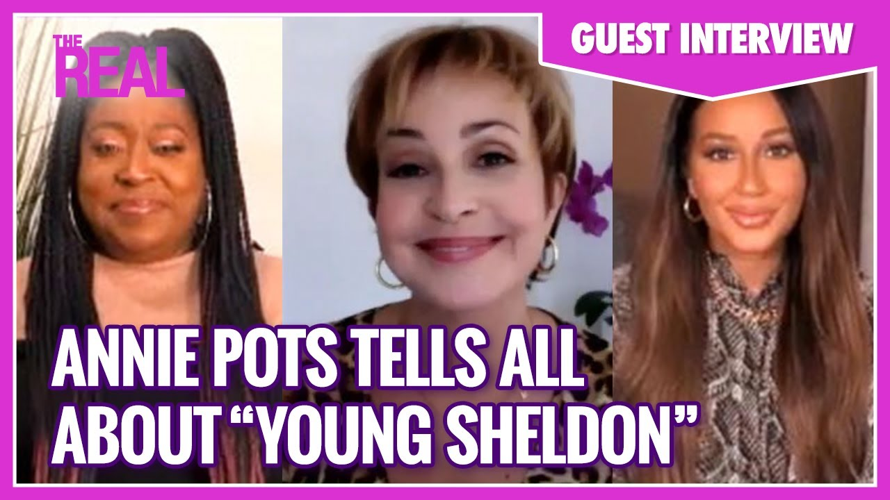 """Full Interview: Annie Potts Tells All About Filming """"Young Sheldon"""" During COVID-19"""