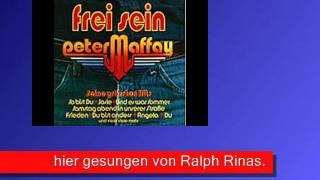 Wo steht das geschrieben (Maffay) , Cover - Kurzdemo von Ralph Rinas