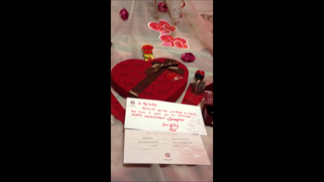 romantic valentines day surprise for my man - youtube, Ideas