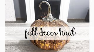 FALL HOME DECOR HAUL! rose gold and copper! Homegoods & TJ Maxx