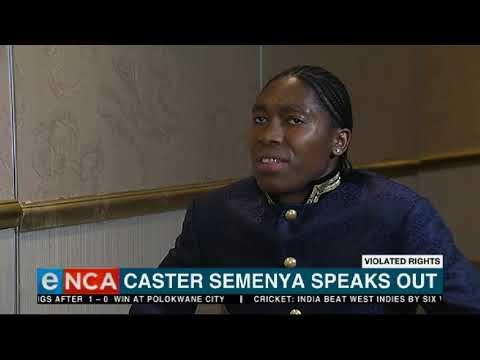 Caster Semenya breaks her silence