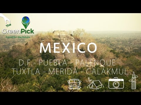 Mexico Travel : DF - Puebla - Merida - Campeche -Calakmul