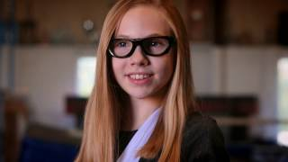 Legally Blind Gymnast with Olympic Hopes Joins Vision Heroes