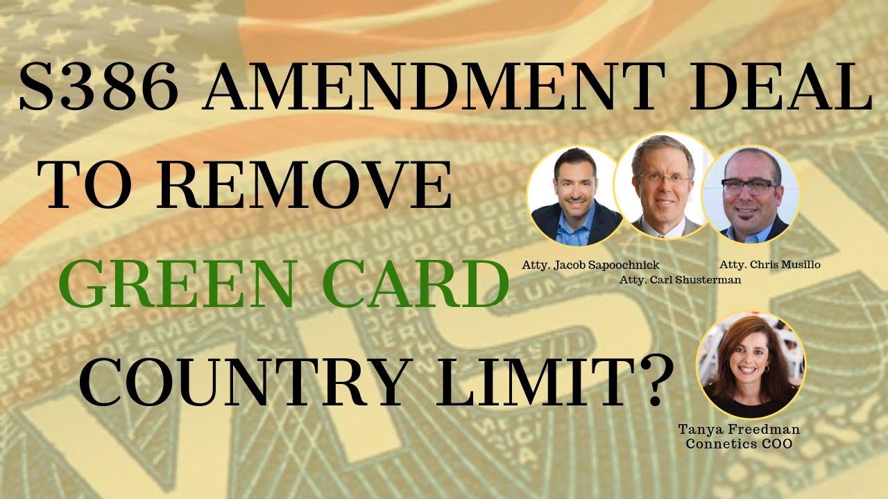 New legislation changes - HR 1044 │Believe act │S386 Amendment  │Retrogression