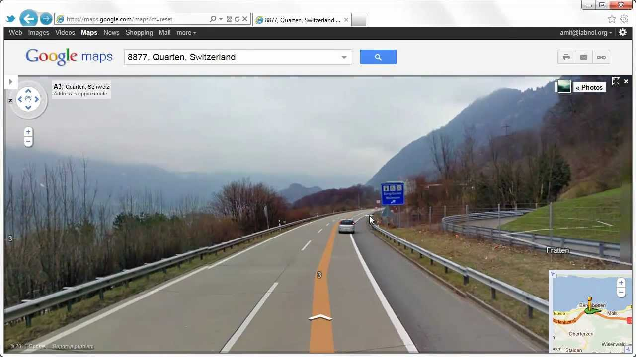 God Sightings in Google Maps - 47.110579, 9.227568 - YouTube