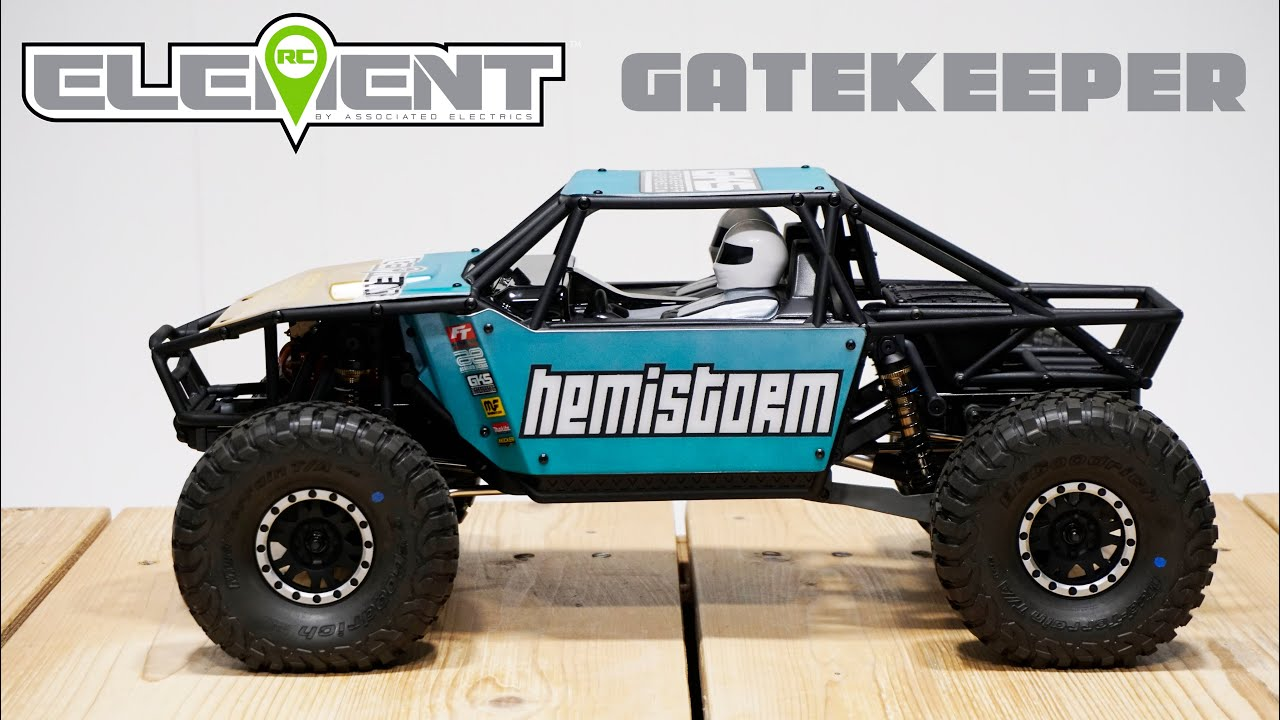 Element Rc Gatekeeper Tough Trailed Suspension Truck Youtube