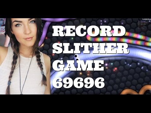 BIGGEST SLITHER RECORD EVER 69696 SLITHER QUEEN! (Slither.io Gameplay) | Kitty Plays