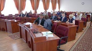 Вручение удостоверений кандидатам в депутаты Гордумы
