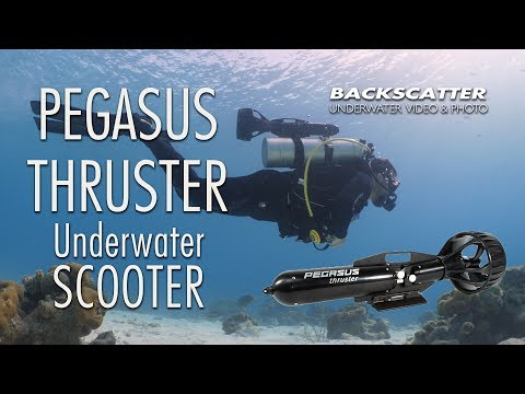 Pegasus Thruster Underwater Scooter - Video Test