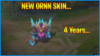After 200 Years, Ornn Finally Got a New Skin...LoL Daily Moments Ep 1213