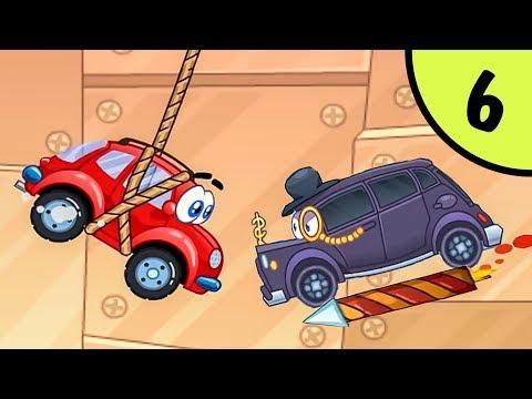 МАШИНКА ВИЛЛИ #6 - В поисках колеса. Часть 2. Мультфильм про машинки. Несносный Вилли на Игрули TV