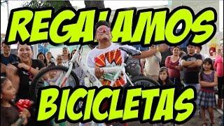 REGALAMOS BICICLETAS, GANATE UNA