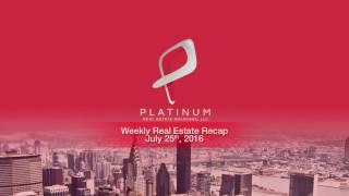 Weekly Real Estate Investment News - Week of July 25 2016
