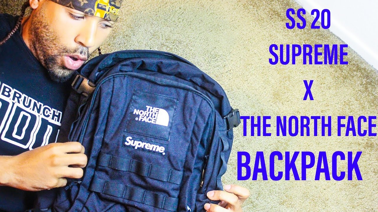 SUPREME X THE NORTH FACE SS20 BACKPACK REVIEW/CLOSEUP LOOK