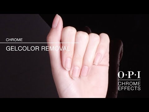 OPI Chrome Effects | Removal How-To