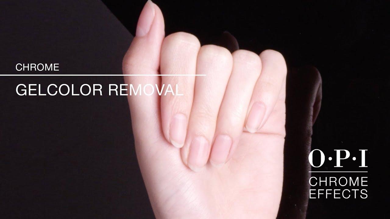 Video: Gel removal