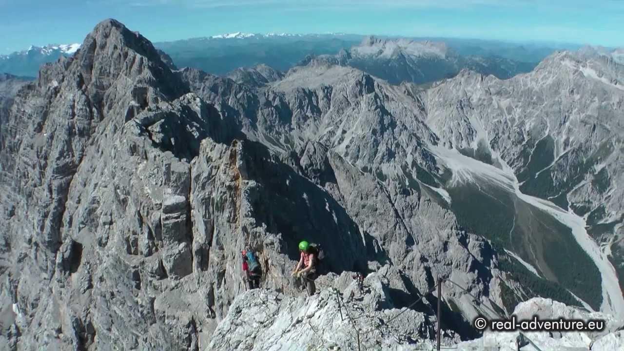 Klettersteig Watzmann : Die watzmann Überschreitung spitzen