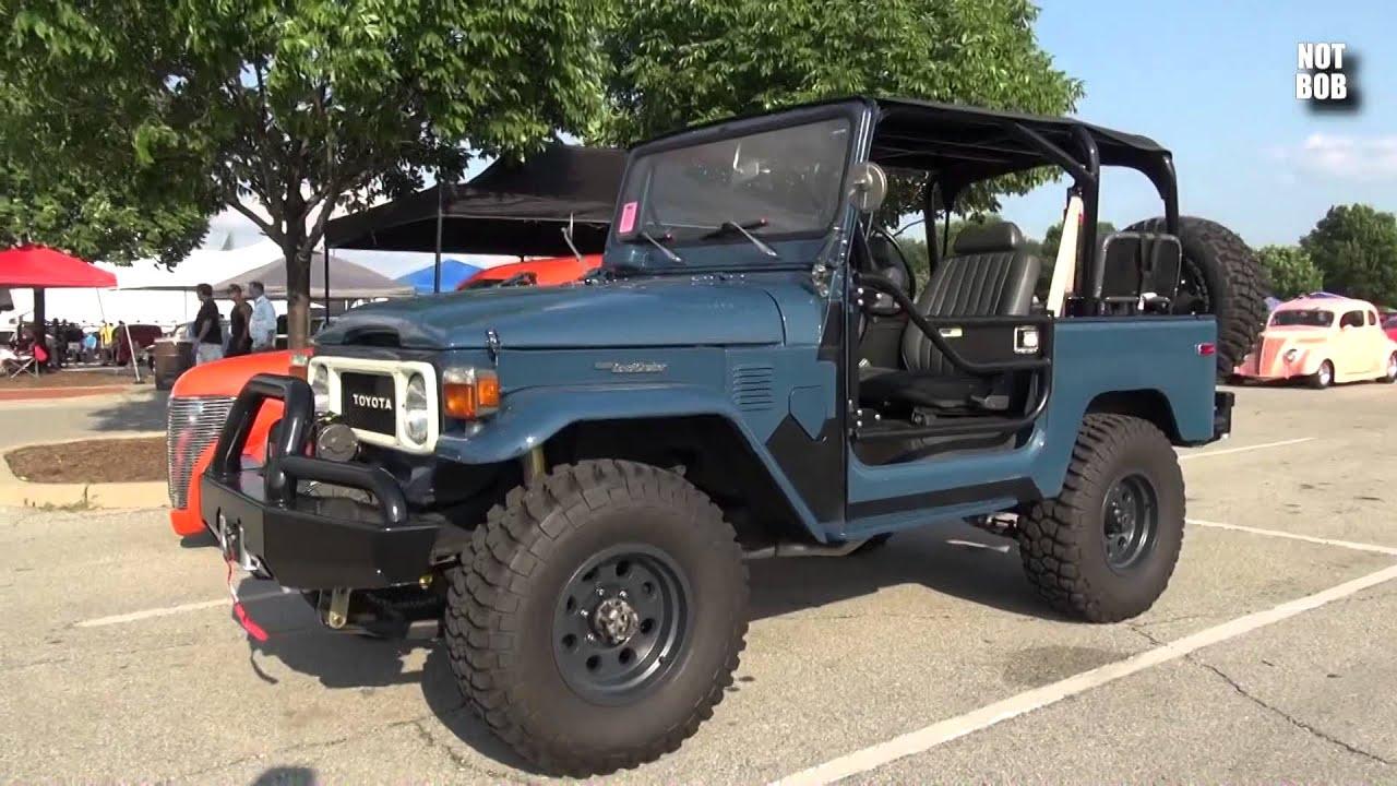 Toyota Land Cruiser 1980 >> 1980 Toyota FJ40 Land Cruiser 2014 Street Rod Nationals Plus Louisville - YouTube