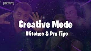 Fortnite Creative Mode Glitches & Advanced Tips (Getting Underground/Floating buildings)