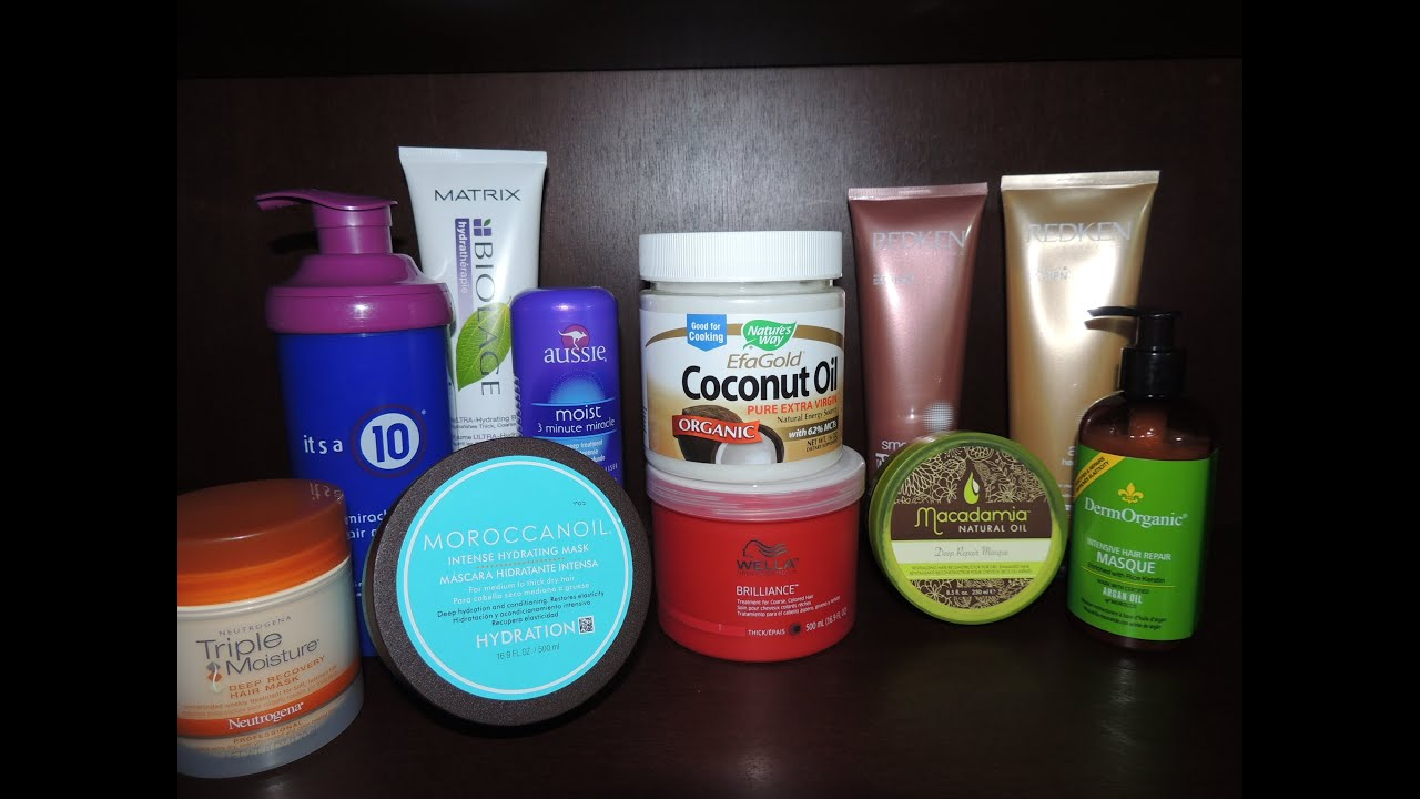 hair masks deep conditioners