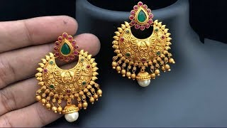Traditional Earrings Designs 2019 | Indian Jewellery Design 2019
