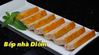 Chả Tôm Huế - Hue Shrimp Cake - Cách làm chả giòn ngon và thật thơm | Bếp Nhà Diễm |