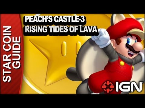 Peach S Castle 3 Rising Tides Of Lava Star Coins