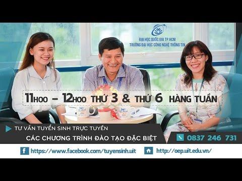 Số 01: Tư vấn tuyển sinh trực tuyến trường Đại học Công nghệ Thông tin ĐHQG TP.HCM năm 2017