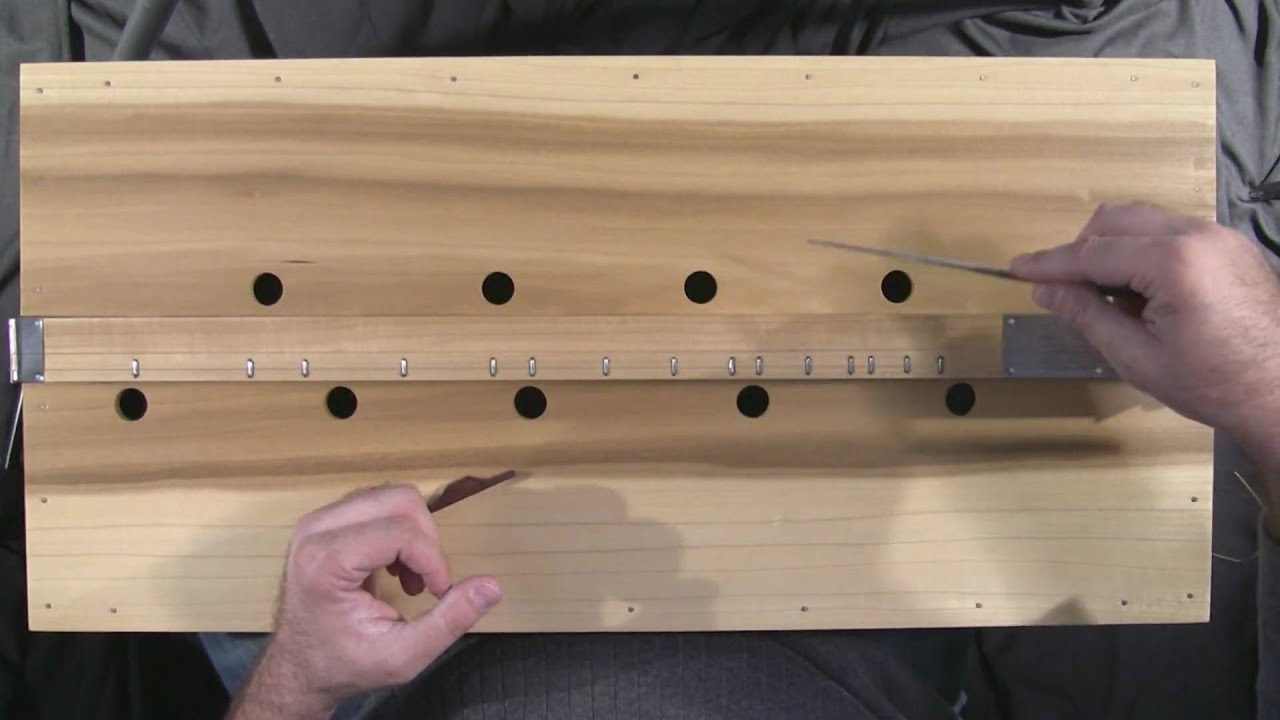 Tennessee Music Box Mountain Dulcimer Noter Drone Demo