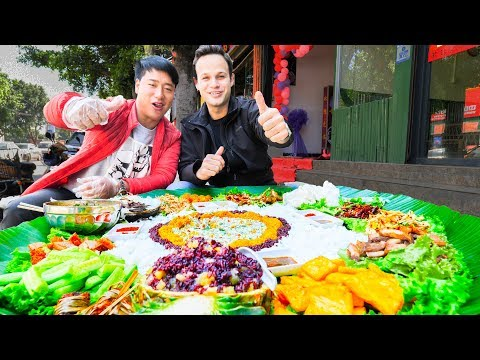 UNSEEN STREET FOOD HEAVEN in China | BEST Street Food in the WORLD + BBQ Pork  & SPICY Noodles