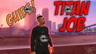 GTA 5 ONLINE MISSIONS #1 Titan job - Sniper strategy guide