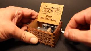 Over The Rainbow - Judy Garland - The Wizard Of Oz - Music Box By Invenio Crafts