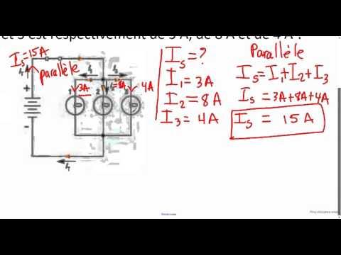 Circuits électriques (loi d'Ohm), partie 2
