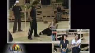 Interview for the upcoming stage Aida, staring Touko (Aran Kei), Ir...