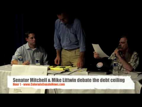 Senator Mitchell debates Mike Littwin about the debt ceiling