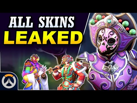 Leaked Christmas Skins Overwatch 2021 All Skins Leaked 2020 Year Of The Rat Event Leaks Overwatch News Youtube