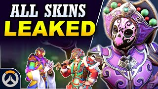 ALL SKINS LEAKED!  2020 Year of the Rat Event Leaks! (Overwatch News)