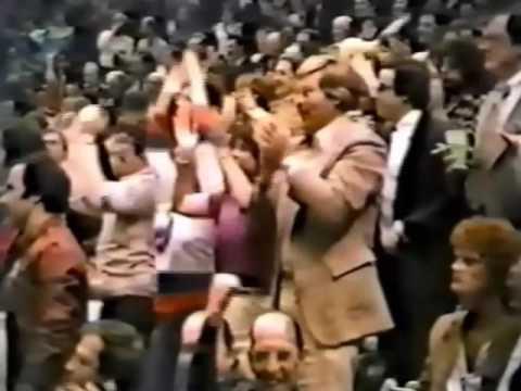 1981 Islanders vs Rangers semifinal series goal compilation