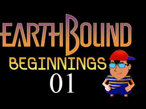 Let's Play EarthBound Beginnings (Mother 1) - Part 1 (Blind Run)