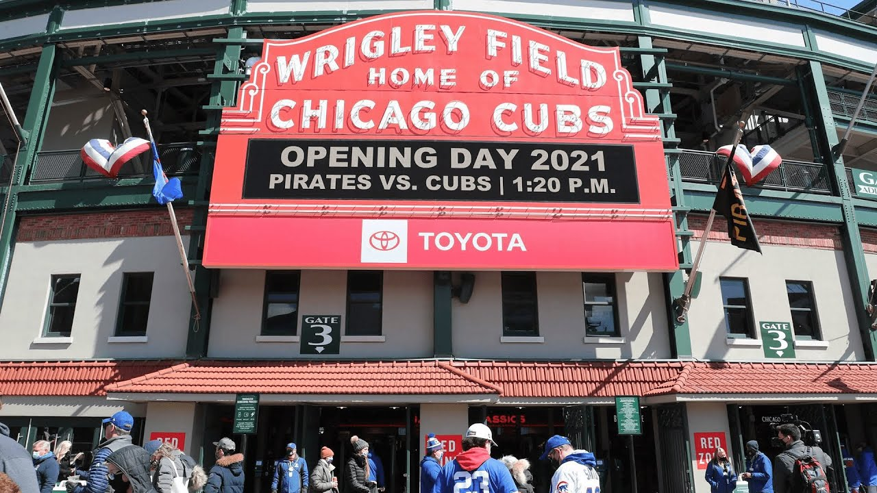Cubs Fans Return to Wrigley Field on Opening Day