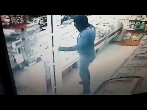 Ограбление магазина АЛМАЗ г. Партизанск 04.09.15