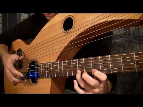 My Heart Will Go On - Titanic Theme - Harp Guitar Cover - Jamie Dupuis